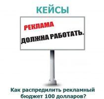 рекламный бюджет